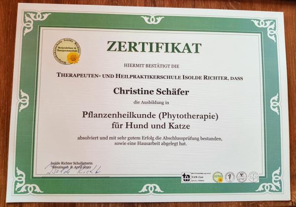 Zertifikat_Pflanzenheilkunde
